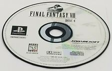 DISC #4: Final Fantasy VIII (Sony PlayStation, 1999) PS1 BLACK LABEL REPLACEMENT