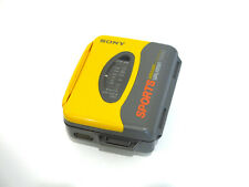 VTG Sony Sports Walkman Mega BassWM-SXF16 FM/AM Radio w/Cassette Tape - Tested