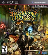 DRAGON'S CROWN (PLAYSTATION 3 PS3) BRAND NEW FACTORY SELAED