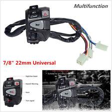 "7/8"" 22mm Motorcycle Handlebar Control Switch Headlight Turn Signal Horn Switch"