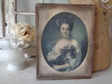 Gedruckte Gemälde-Reproduktionen von Porträts & Personenmalereien (1900-1949)