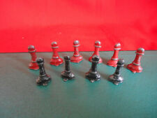 Red Rose Chess No.1 Set 1930s Spares or replacements; Pawns; price each