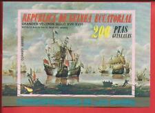 Äquatorialguinea Segelschiff Walfangschiffe Block 249 Äquatorialguinea