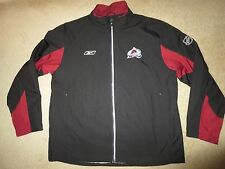 Colorado Avalanche Avs Reebok NHL Center Ice Jacket LG L mens
