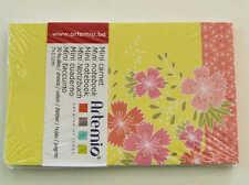 Mini carnet Fleurs Japon 11x7cm 30 feuilles Artemio DIY scrapbooking papeterie