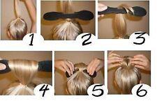 L'éponge maker de cheveux Donut Twister + 10 élastiques / épingles à cheveux