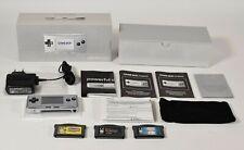 Nintendo Game Boy Micro plata/Silver, oxy-001, OVP + 3 juegos