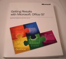Getting Results with Microsoft Office 97 - Vintage Computer Book - 1997 (CB52)