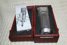 Neumann U87Ai w/ Redwood Case and Shock Mount Holder - Mint!