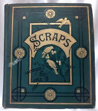 Victorian & Early Edwardian Scrap Book Cards By Anne Hardcastle 34 Double Pages