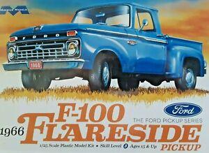 FORD F-100 Flareside 1966 Pickup Plastic Model Kit  MEBIUS #1232