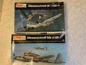 1/48 Pro Modeller (2 kits) Messerschmitt Me 410B-1 & Messerschmitt Bf 110G-4