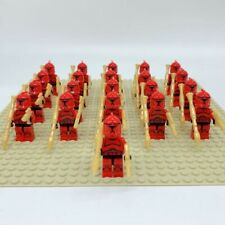20x Red Clone Troopers Mini Figures (LEGO STAR WARS Compatible)