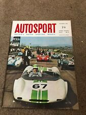 NOV 5 1965 AUTOSPORT vintage car magazine