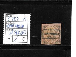 (59295) HONDURAS CLASSIC STAMPS #8 1877 COMAYAGUA UNUSED OG CAT.VL+ U$ 800,00