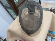 Vintage Fencing Mask Castello NY Wire Mesh with built in Bib L12.20