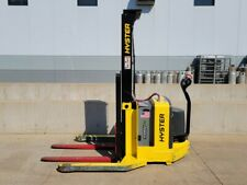 2017 Hyster W40za Electric Walkie Straddle Stacker Narrow Aisle Forklift Yale