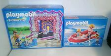 2 Playmobil summer fun sets 5547 and 5439