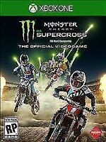 Monster Energy Supercross: The Official Videogame (Microsoft Xbox One, 2018)