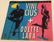 VINICIUS & ODETTE LARA 1963 Elenco album CD 1995 Bossa Nova Brazil de moraes