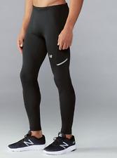 New Balance Mens Impact Run Heat Tight Drawstring Reflect Pant Black Size Medium