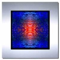 Bild auf Metall moderne abstrakte Kunst auf Alu Design Bilder Wandbilder Deko