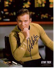 WILLIAM SHATNER signed autographed STAR TREK JAMES T. KIRK ENTERPRISE photo