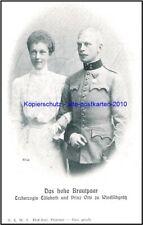 Das hohe Brautpaar Erzherzogin Elisabeth und Prinz Otto zu Windisch-Graetz Litho