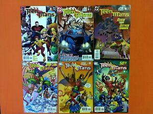 TEEN TITANS (2003) #1-50 / JOHNS MCKONE ROBIN CYBORG IMPULSE / NM FULL RUN!!!