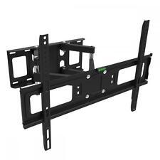 """FULL MOTION TILT LCD LED TV WALL MOUNT DUAL ARM32 39 40 42 46 47 50 55 60 65""""M65"""