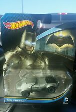 ***Error Car*** Hot Wheels DC Comics Armored Batman labeled as Mr. Freeze