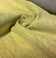 BEIGE CHENILLE UPHOLSTERY FABRIC 2.3 METRES