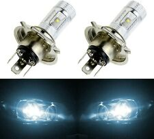 LED 30W 9003 HB2 H4 White 6000K Two Bulbs Head Light Replace Show Use Off Road