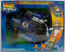 MATTEL 2001 MAX STEEL SKYFIRE GO KART VEHICLE 2 IN 1 MISP EUROPEAN NEW RARE