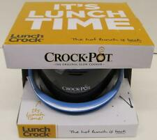 NEW IN BOX~CROCK-POT LUNCH CROCK~20 OZ. PORTABLE FOOD WARMER~#SCCPLC200-BK
