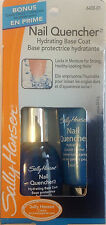 Sally Hansen Nail Quencher Hydrating Base Coat + Hydrating Cuticle Creme