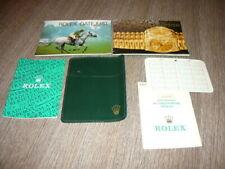 ROLEX 16200 GARANZIA ORIGINALE DATEJUST + ACCESSORI GARANTIE ROLEX WATCH 1991