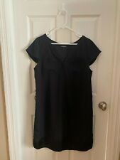 WOMENS EXPRESS BLACK DRESS WORK BUSINESS FORMAL COCKTAIL - SIZE LARGE