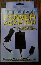110V-220V AC to 12V DC Car Power Adapter Converter Cigarette Lighter Socket