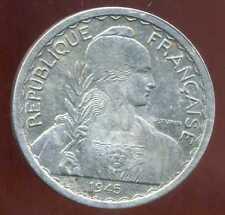 INDOCHINE  20  cent 1945  ( 3 )