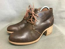 Clarks Artisan Leather Boots Brown Size UK6
