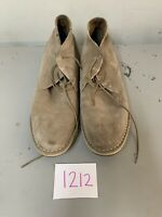 Steve Madden Igloo Suede Chukka Boots Mens Shoes Size 10.5 Taupe