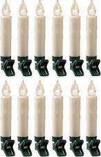 LED kabellose Christbaumkerzen-Set für den Innenbereich (12-teilig)