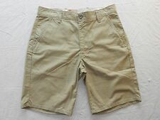 NEW MENS SHORTS = LEVI = SIZE 31 = straight chino = #R21