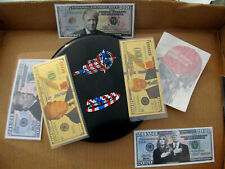 2018 Innova Star Embossed Aviar3 Flag Stamp Golf Disc w/ Trump Novelty Money Lot
