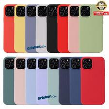 COVER CUSTODIA SILICONE Apple iPhone 12 Mini Pro Max Protettiva Antiurto Colore