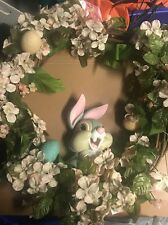 DisneyStore hanging THUMPER Easter wreath Vintage piece