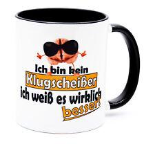 Klugscheißer Tasse mit Spruch lustig witzig Arbeit Chefin Kollegin Büro Kollege