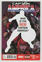 Captain America #25 - 1st Sam Wilson as Cap - The Falcon and the Winter Soldier