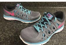 Nike Women's Dual Fusion Run 2 Running Shoes Size 10 Grey Blue Pink 599564-064